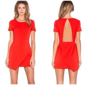 NBD X Haven Twins Asym Open Back Dress